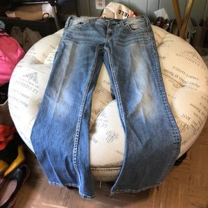 Silver Aiko Bootcut Jeans size 31